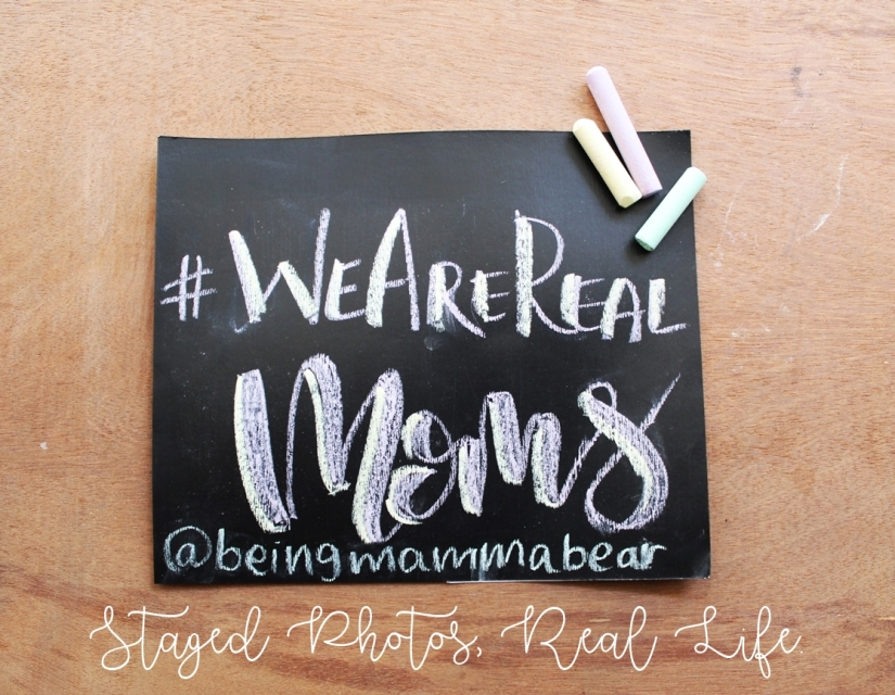 We Are Real moms - Being Mamma Bear
