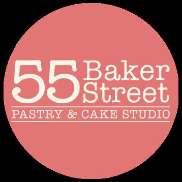 55 Baker Street Circle Logo