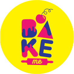 Bake Me India Circle Logo