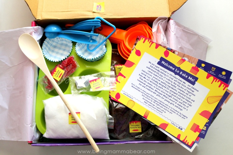 Being Mamma Bear Bake Me India Big Chocolate Cupcakes Kit Review 1