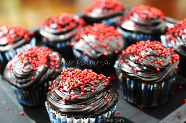 Being Mamma Bear Bake Me India Big Chocolate Cupcakes Kit Review 15