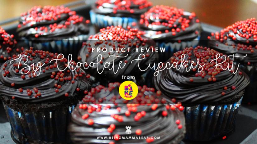 Being Mamma Bear Bake Me India Big Chocolate Cupcakes Kit Review 19