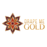 Drape Me Gold Logo Circle