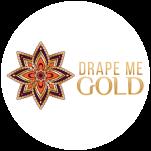 Drape Me Gold Logo Circle