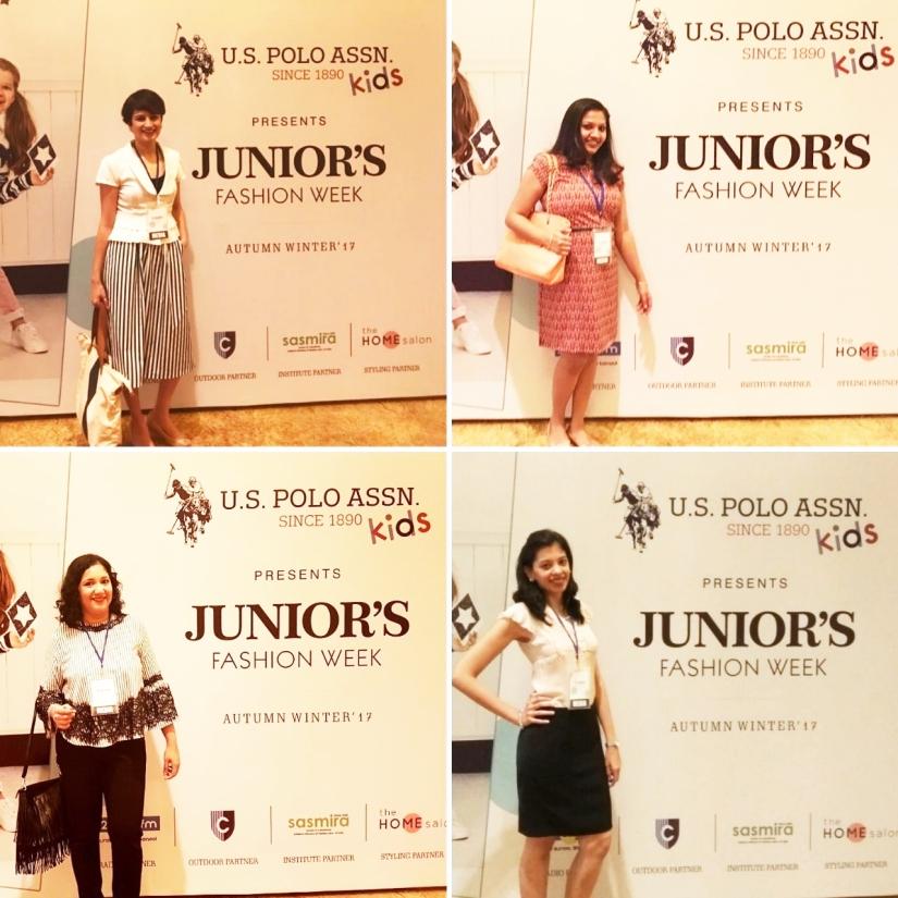MBU Bloggers at Junior's Fashion Week 2017 Mumbai Being Mamma Bear Raising Karma Mommying Babyt Babyandbeyondin