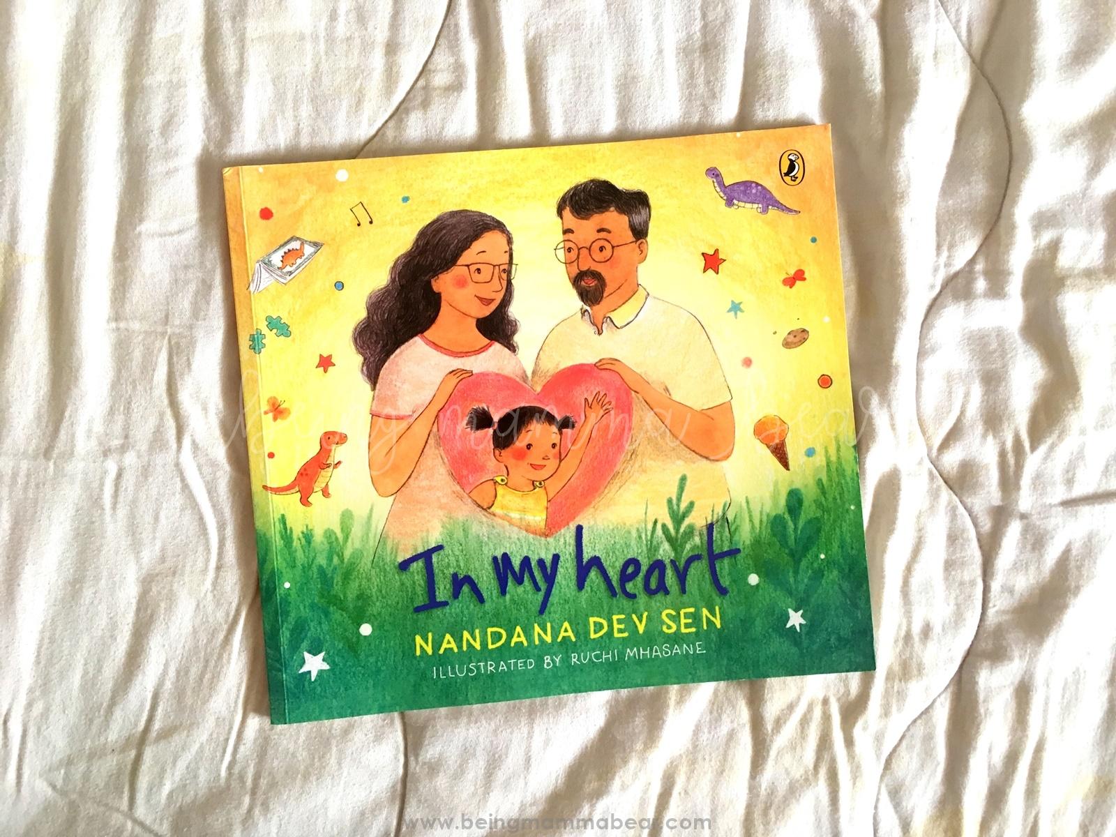 Being Mamma Bear Book Review In My Heart Nandana Dev Sen Ruchi Mhasane Puffin Books Penguin Random House - 4