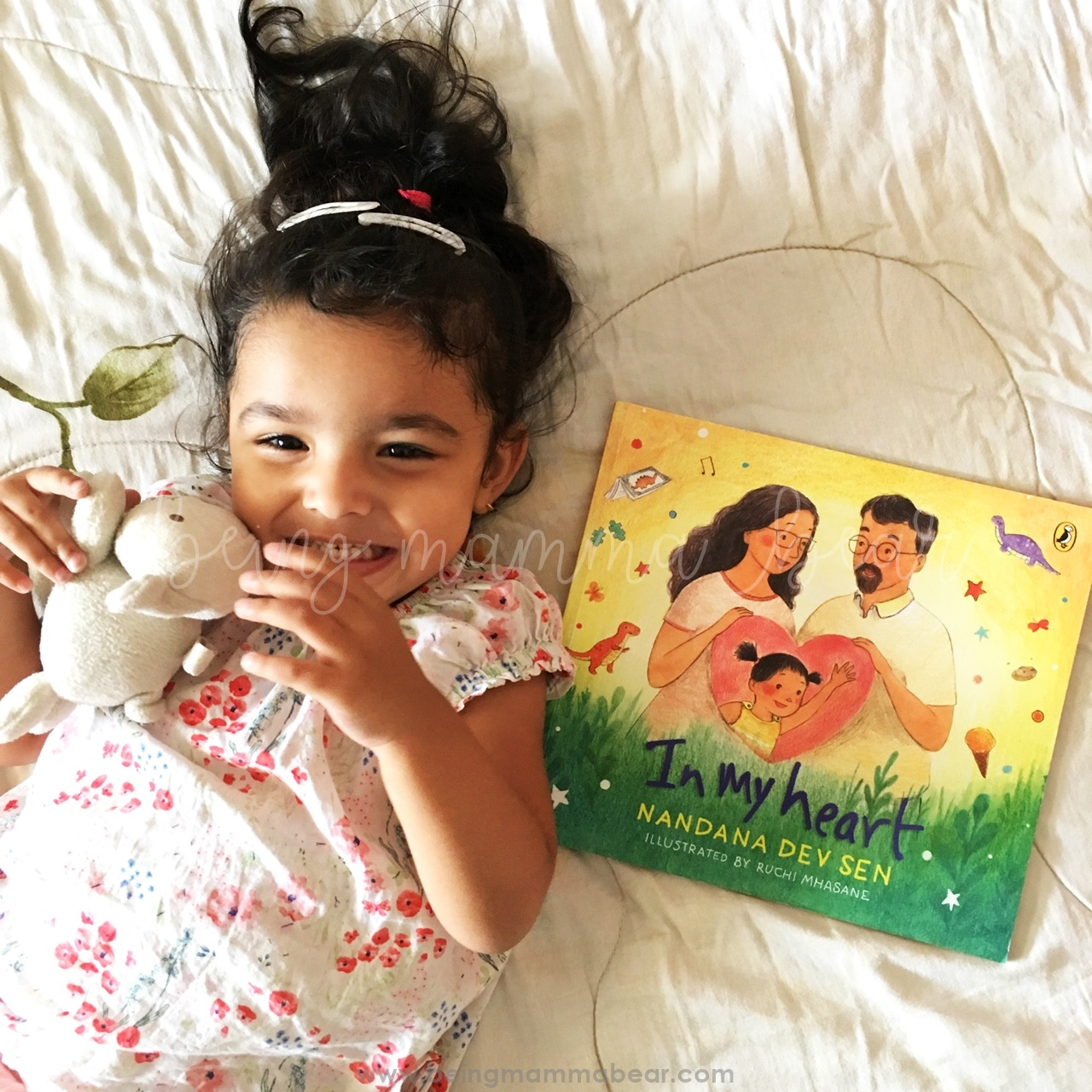 Being Mamma Bear Book Review In My Heart Nandana Dev Sen Ruchi Mhasane Puffin Books Penguin Random House - 6