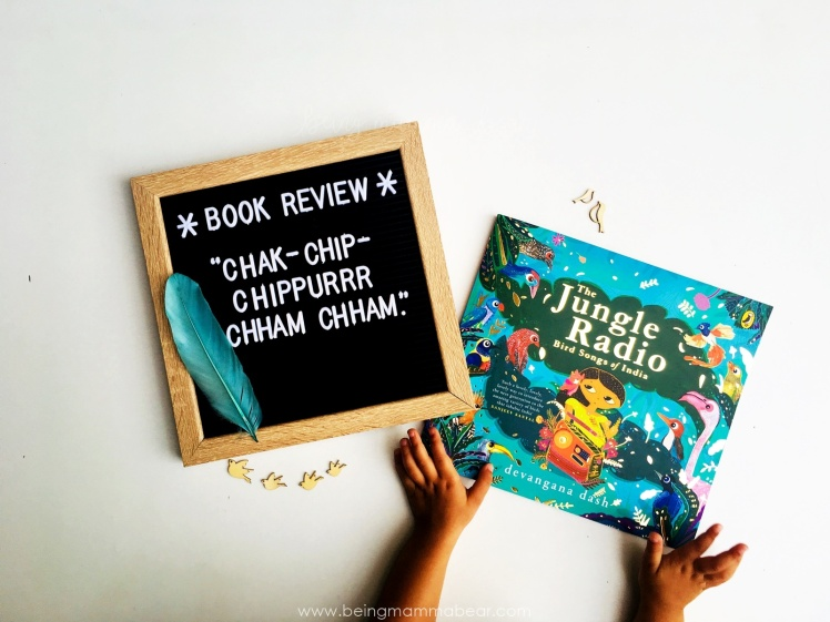 Being Mamma Bear Book Review The Jungle Radio Devangana Dash Puffin Books Penguin Random House - Featured Image